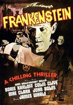 """Frankenstein"" - 1931  Boris Karloff, Colin Clive"