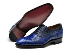 Luxury bespoke mens goodyear welted shoes