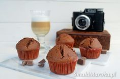 Wilgotne muffiny mocno czekoladowe
