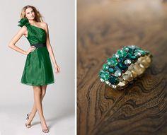 emerald green things | Pantone emerald wedding inspiration