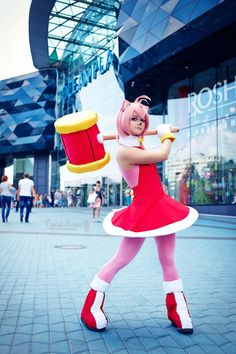 amy rose cosplay - Google Search