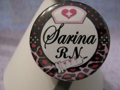 Stethoscope ID Name Tag Purple Leopard Print Customizable by sparklinghope on Etsy https://www.etsy.com/listing/236479302/stethoscope-id-name-tag-purple-leopard