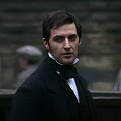 John Thornton from Gaskell's North and South. by the impeccable Richard Armitage.