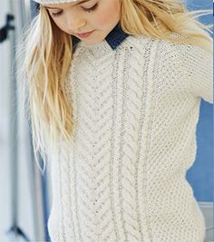 b32057ad54d01 Free Pattern! Free Pattern!  Starboard  Children s Knitted Jumper by Yarn  Stories