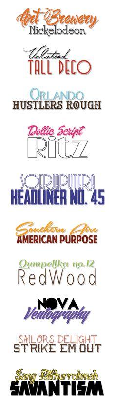 Art Brewery & Nickelodeon   Nova & Ventography      Orlando & Hustlers Rough     Southern Aire & America Purpose     Volstead &...