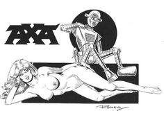 Romero, Enrique Badia - Originele pagina - Axa & Robot - [2015] - W.B