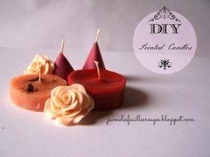 DIY - Scented Candles!  Cinnamon, Cloves and Lemon!   Do you like it? full tutorial on my blog :)  http://jaimelesfeuillesrouges.blogspot.it