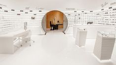 EYEWEAR STORES! Rivoli EyeZone Stores by Labor Weltenbau, UAE