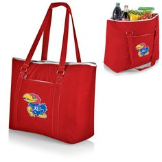 Kansas Jayhawks Tahoe XL Beach Bag Cooler Tote - - $44.99