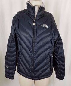 59190b812049 The North Face Flight Series 850 Goose Down Puffer Sweater Jacket Black  Womens M