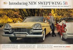 "1958 ""Swept-Wing"" Dodge"