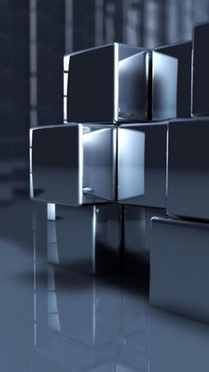 HD Abstract Cubes iPhone 6 Plus HD Wallpaper