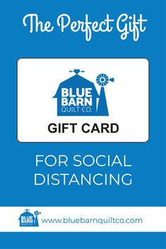 $25.00 – $150.00 The Blue Barn Quilt Co. gift card makes gift giving easy especially with social distancing! You don't have to carry a card or keep track of the balance. It is all done for you! A great gift for a friend or Mother's Day. #perfectgift #socialdistancing #togetherathome #quarantineandchill #libertyfabric #agfsolids #agfpuresolids #longarmquilting #libertyoflondonfabric #longarmquilting #yegquilter  #canadianquiltshop #sewcanadian #onlinequiltshop #onlinequiltstore…