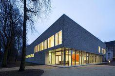Centro per la parola e il movimento di eins:eins Architekten, Amburgo. Photo Bernadette Grimmenstein