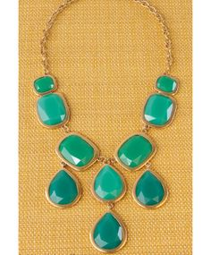 "On the hunt for a turqouise statement necklace that doesn't scream ""southwest""."