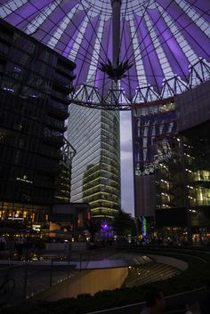 Sony Center, Berlin, Germany Berlin Germany, Places To Travel, Sony, Fair Grounds, Destinations, Holiday Destinations