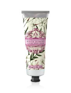 Aromas Artesanales De Antigua Floral AAA Hand Cream: White Jasmine. Inspired by Antigua's architecture, landscape and fragrances, our Aromas Artesanales de Antigua Hand Cream contains natural Shea Butter to thoroughly moisturise, nourish and soothe hands. Available in 7 floral fragrances, this decadent hand cream will give you beautifully soft, healthy and subtly scented skin.