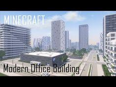(23) Minecraft Modern Office Building 6/Skyscraper (full interior) + Download - YouTube Minecraft Modern City, Minecraft Skyscraper, Minecraft City Buildings, Minecraft Farm, Minecraft Plans, Minecraft Creations, Minecraft Projects, Minecraft Designs, Modern Skyscrapers
