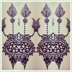penangkap mimpi... dream catcher henna