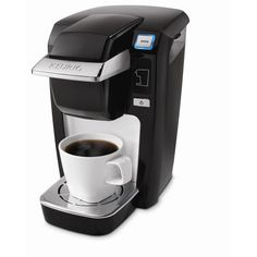 I love the Keurig because I often don't want a whole pot of coffee, and I don't always want to run to Crackbucks, I mean Starbucks. :O)