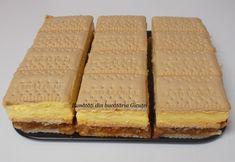 Prajitura cu biscuiti, mere si crema de vanilie - Bunătăți din bucătăria Gicuței Cooking Time, Biscuit, Dessert Recipes, Bread, Food, Pasta, Brot, Essen, Baking