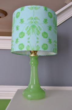 Vintage Houzex Jadeite Lamp Base with Custom by NikisKnickKnacks, $125.00