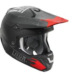 CASCO MOTOCROSS THOR S7 VERGE OBJECT NEGRO