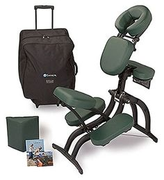 Avila II™ Portable Massage Chair Package - The Avila II™ is the world's most advanced massage chair -- infinitely adjustable, ergonomically designed and ultra compact. The leg and seat shapes plus the chair angles are expertly designed to prov