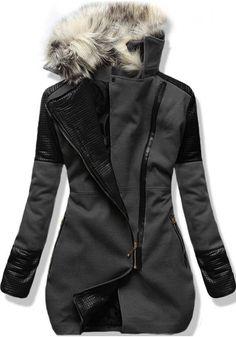 Kabát 6959 grafitový