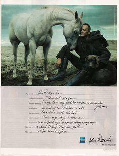 Ken Watanabe with horse