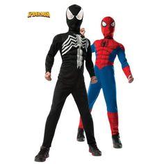 DISFRAZ SPIDERMAN REVERSIBLE 2 EN 1 - Deluna DisfracesDeluna Disfraces