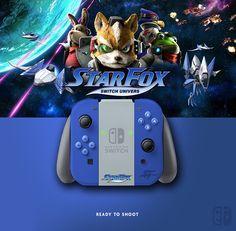 Joy Con StarFox. If U like it, follow me on Twitter ! joycon, nintendo switch, dock, joy-con