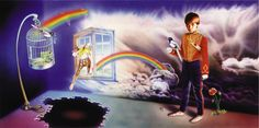"Artwork del album de Marillion de 1984 ""Misplaced Childhood"". Mark Wilkinson."