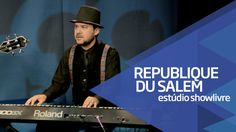 """I'm free"" part. Marc Ford - Republique du Salem no Estúdio Showlivre 2015"