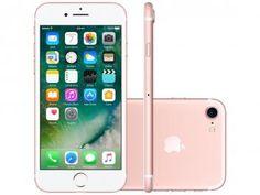 """iPhone 7 Apple 256GB Ouro Rosa 4G 4,7"""" Retina - Câm. 12MP + Selfie 7MP iOS 10 Proc. Chip A10"""
