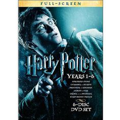 Harry Potter: Years 1-6 (Full Frame)  About halfway done reading Year 1 (Sorcerer's Stone) and I want to watch each movie after I read each book!  Watched the first 3 as they came out then fell off, never read the books, so it's my own little project.