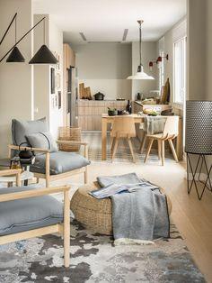 Une maison espagnole aux couleurs neutres - PLANETE DECO a homes world