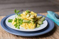 avocado egg scramble photo