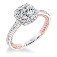 Engagement Ring has a romantic connotation that can make your lady love happy. Shop the everlasting style of unique engagement rings at Baxter's Fine Jewelry in Rhode Island. #DiamondEngagementRings