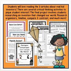 Inventions-1146909 Teaching Resources - TeachersPayTeachers.com