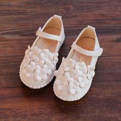 【圖圖的商店】2015女童鞋開題花朵清新公主單鞋舒適百搭童鞋7006
