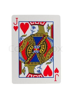 Jack Playing Card | Playing card jack, stock photo