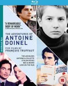 The Adventures of Antoine Doinel: Five Films by François Truffaut Blu-ray… Jean Pierre Leaud, Cinema Box, Francois Truffaut, Blu Ray, Claude, Greatest Hits, Love Her, Writer, Adventure