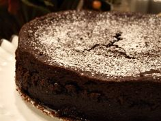 Chocolate Espresso Torte Recipe  http://www.recipegirl.com/2007/04/23/chocolate-espresso-torte/