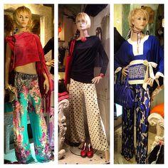 "La nuova collezione di pantaloni palazzo a Salamastra -   ""Palazzo"" pants, part of the new collection at Salamastra"
