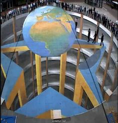 Image result for 3D Sidewalk art