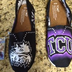 My new game day TCU Toms