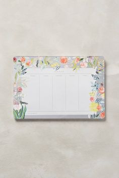 Meadowland Weekly Notepad - anthropologie.eu