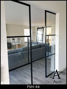 Love this style glass pocket doors Interior Pocket Doors, Sliding Pocket Doors, Interior Barn Doors, Glass Pocket Doors, Door Design, House Design, Design Design, Interior Design, Glass Barn Doors