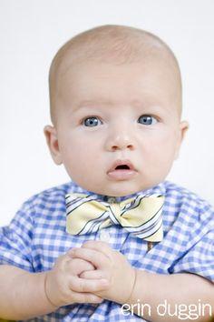 Baby bow tie from men's tie